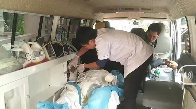 Vụ nổ kinh hoàng ở sân golf Cam Ranh: Nạn nhân không kịp chạy-1