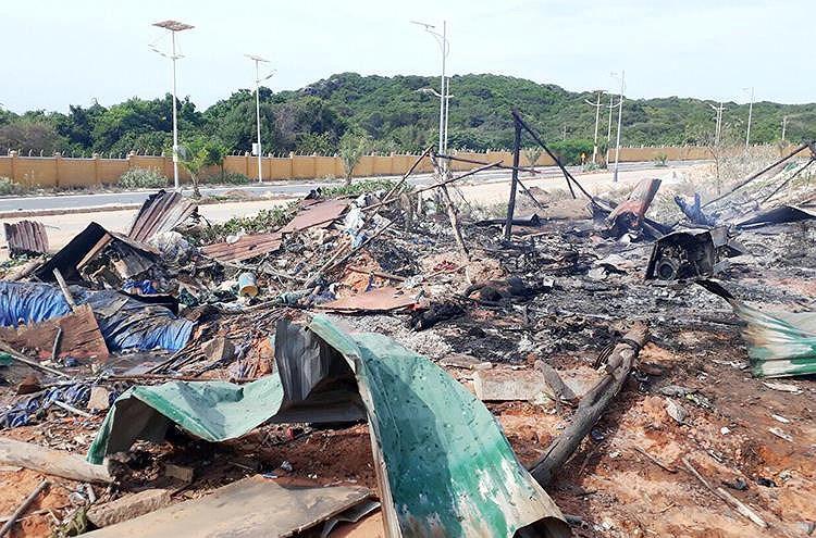 Vụ nổ kinh hoàng ở sân golf Cam Ranh: Nạn nhân không kịp chạy-2
