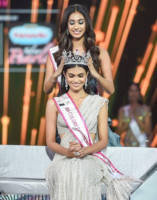 Chiêm ngưỡng nhan sắc quyến rũ của tân Hoa hậu Ấn Độ 2019-1