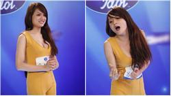 CHUYỆN GIỜ MỚI KỂ: Hóa ra Hương Giang có sự tính toán cực kỳ tinh vi đằng sau bộ jumpsuit bó màu vàng chóe tại Vietnam Idol 2012