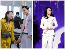 Mặc váy thì thường xuyên lọt top sao xấu, chứ cứ diện vest là Mỹ Tâm đẹp 'chấp' cả dàn mỹ nhân Việt