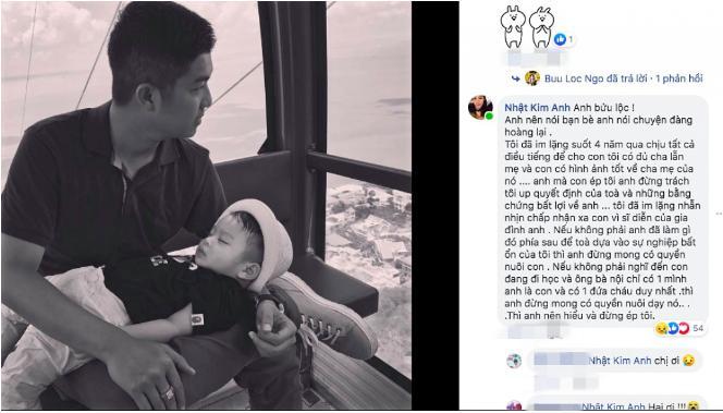 Bị tố vô tâm đến mức ném con cho bố, Nhật Kim Anh tìm chồng cũ đe dọa tung bằng chứng từ tòa-3