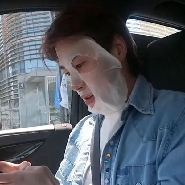 Yunho (TVXQ) gây lú với kích cỡ khuôn mặt chỉ bằng nửa chiếc mặt nạ giấy-3