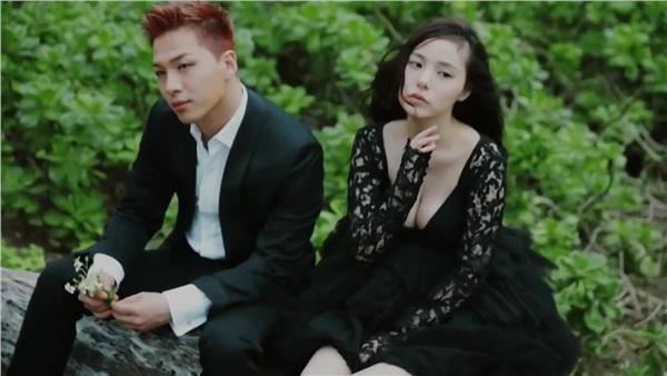 Vpop có Mỹ Tâm - Mai Tài Phến, Kpop cũng có Taeyang - Min Hyorin đóng MV chung rồi... yêu luôn-2