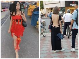 Váy áo ra phố 'trống huơ trống hoác' bị chê vô duyên của phụ nữ xứ tỷ dân