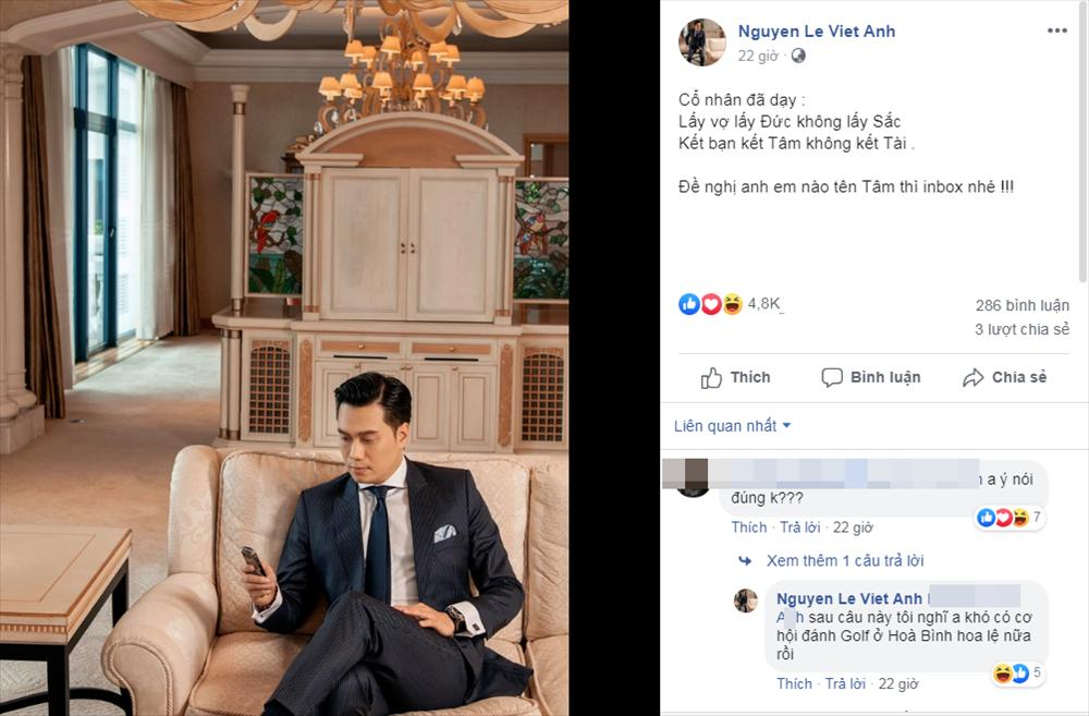 Tổ chức tiệc độc thân, diễn viên Việt Anh công khai thừa nhận đã ly hôn vợ lần 2?-1