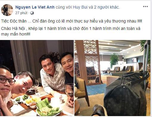 Tổ chức tiệc độc thân, diễn viên Việt Anh công khai thừa nhận đã ly hôn vợ lần 2?-4