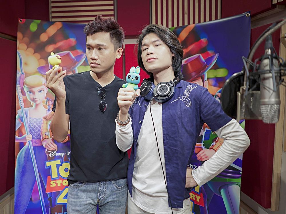 Hai vựa muối Quang Trung - Xuân Nghị hóa thân thành bộ đôi hài hước trong Toy Story 4-3