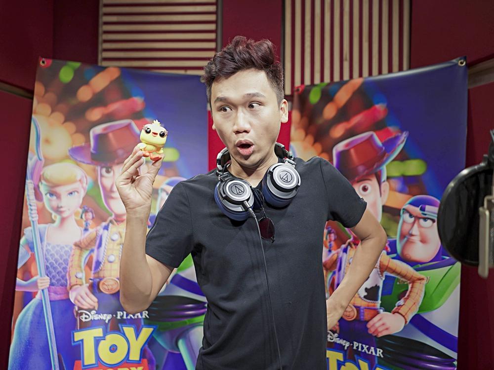 Hai vựa muối Quang Trung - Xuân Nghị hóa thân thành bộ đôi hài hước trong Toy Story 4-5