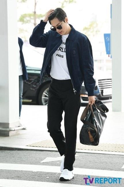 Lee Min Ho gây náo loạn sân bay vì đẹp quá mức cho phép-5