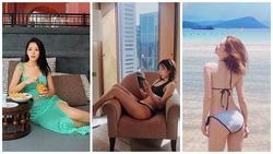 'Người tình tin đồn' của Trịnh Thăng Bình khoe dáng bằng bikini còn Min lại khiến fan 'xịt máu mũi' khi hở bạo với đồ lót