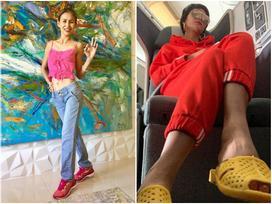 Sau khi mắng H'Hen Niê 'quê mùa lôm côm', vợ cũ Huy Khánh tiếp tục yêu cầu Hoa hậu phải 'tự trọng' hơn và chấm dứt đi dép tổ ong