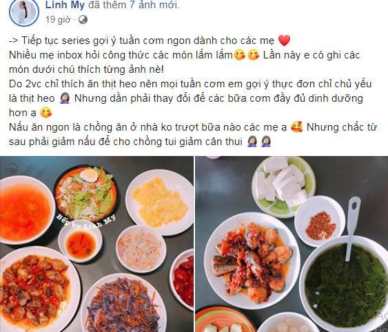 Vợ vlogger Huy Cung khiến chị em choáng vì những mâm cơm nấu cho chồng-2