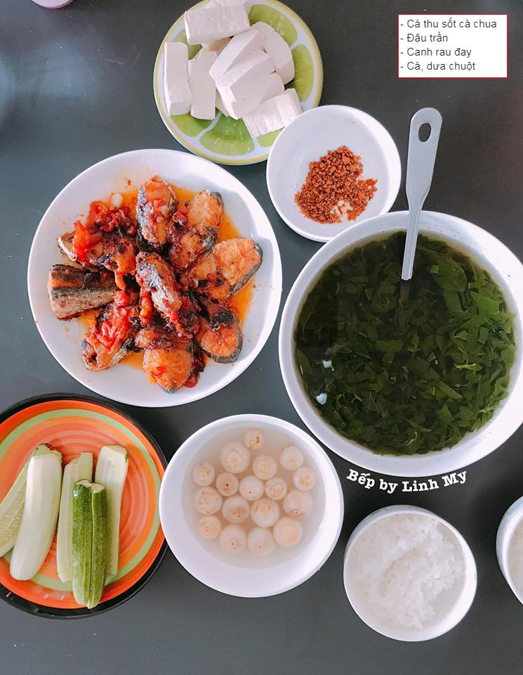 Vợ vlogger Huy Cung khiến chị em choáng vì những mâm cơm nấu cho chồng-6