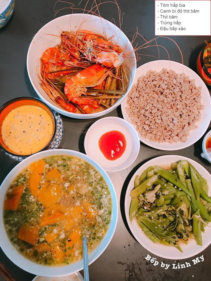 Vợ vlogger Huy Cung khiến chị em choáng vì những mâm cơm nấu cho chồng-7