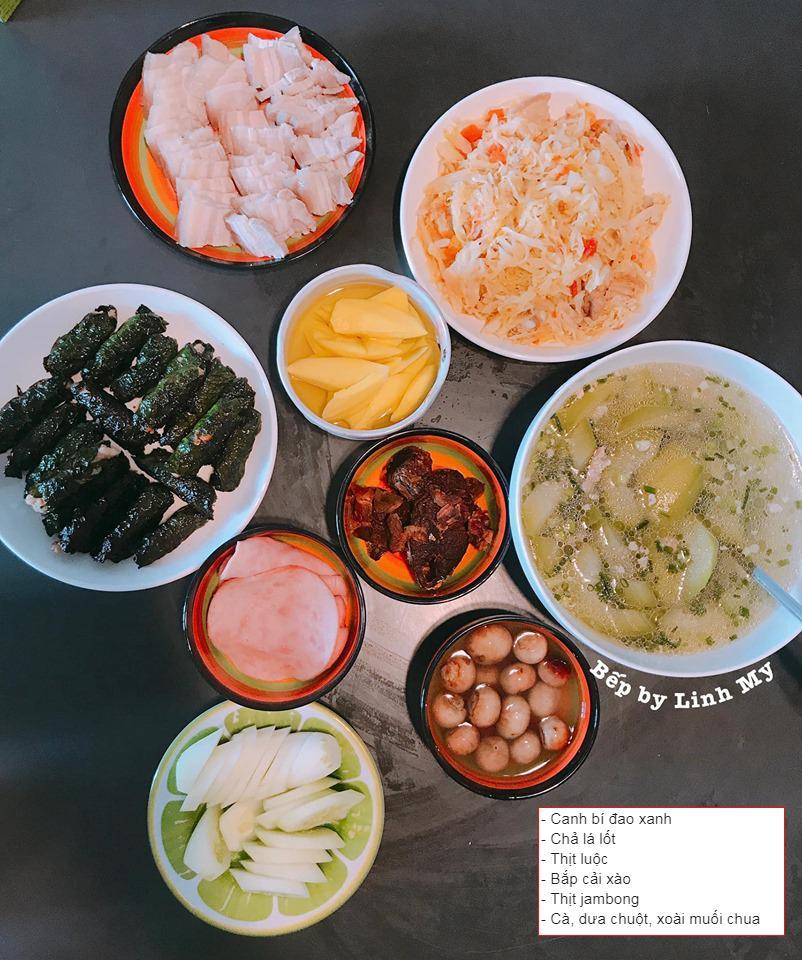 Vợ vlogger Huy Cung khiến chị em choáng vì những mâm cơm nấu cho chồng-8