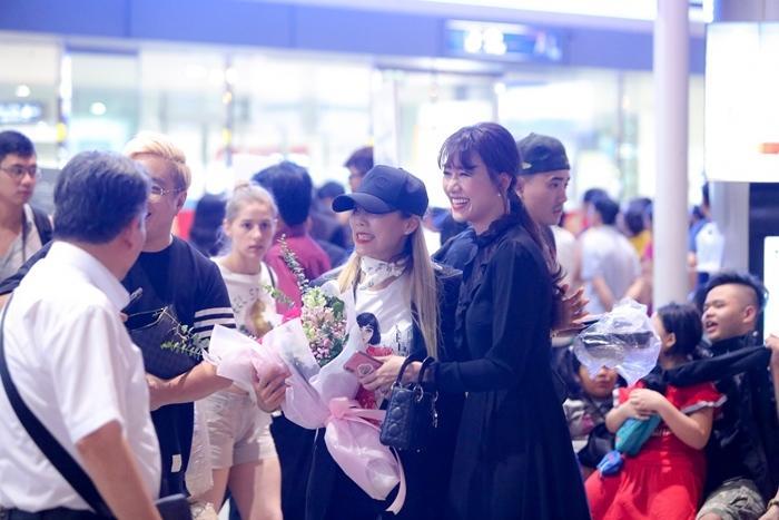 Hari Won đón báu vật Hàn Quốc Kim So Hyang đến Việt Nam-5