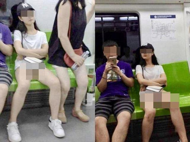 Diện trang phục đỏ nổi bật nhưng lại diêm dúa đến hở nội y, cô gái khiến người xem hốt hoảng với kiểu thời trang kinh hãi-3