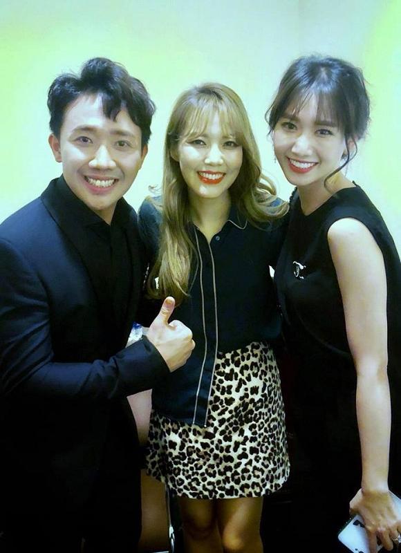 Điểm chung hiếm hoi của Trấn Thành - Hari Won: Dành tình yêu to bự cho giọng ca uy lực nhất Hàn Quốc-3