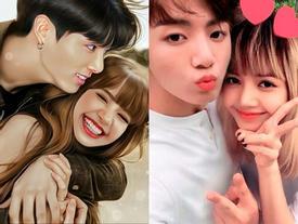 Jungkook (BTS) và Lisa (BlackPink) được đề cử 'cặp đôi tuyệt nhất' tại Mexico khiến fan hai bên 'dậy sóng'