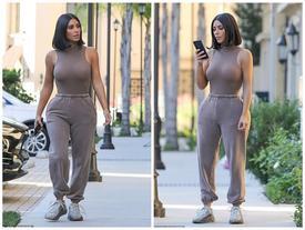 Cô Kim lại diện áo nhìn như khỏa thân, bị phàn nàn khoe cơ thể nhàm chán