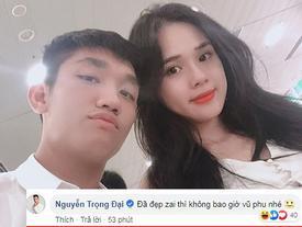 BẤT NGỜ CHƯA: Đẹp trai, đá bóng giỏi nhưng Trọng Đại của tuyển Việt Nam bị bạn gái tố 'vũ phu'