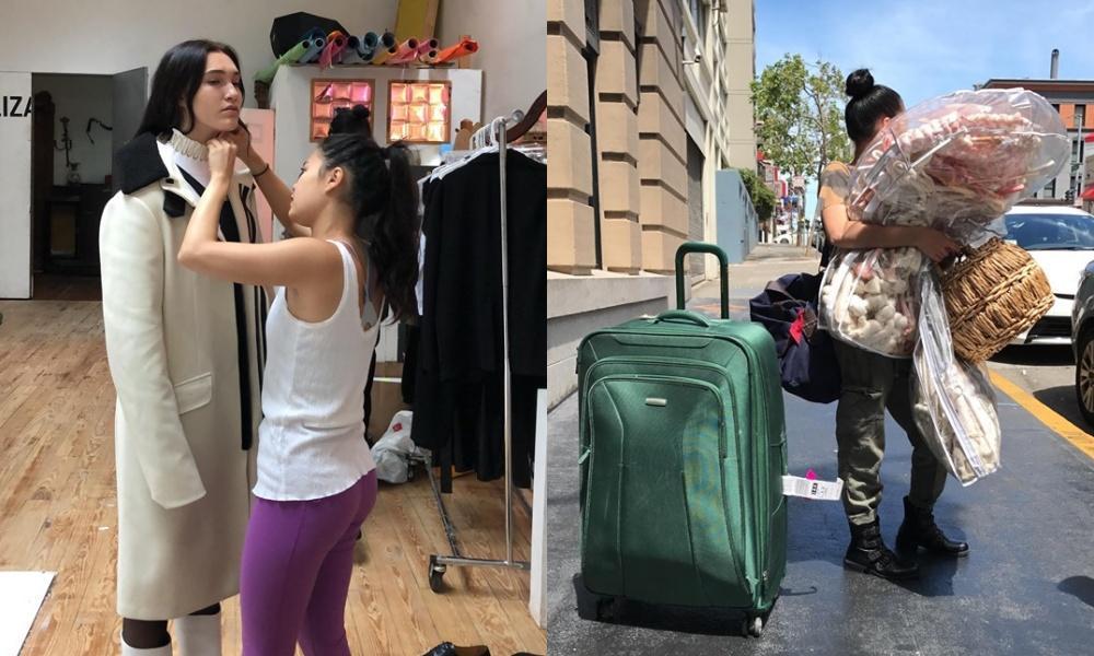 Stylist Việt Nam phải ngủ dưới sàn, ăn mì gói khi làm việc tại New York-2