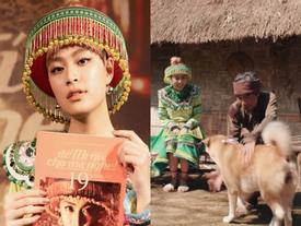 Mang cả dàn 'vedette văn học' vào MV mới, Hoàng Thùy Linh được hàng trăm sĩ tử Việt phong danh 'thánh đoán đề'