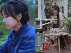 Sau Lý Tử Thất, cư dân mạng lại phát sốt với loạt video của 'tiên nữ' nấu ăn có cái tên rất lãng mạn: Căn bếp ngày hè