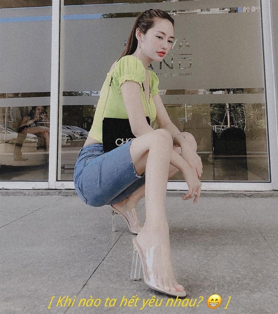 Sau thời gian bị chê sồ sề như mẹ bỉm, hoa hậu Kỳ Duyên thông báo giảm cân thành công-8