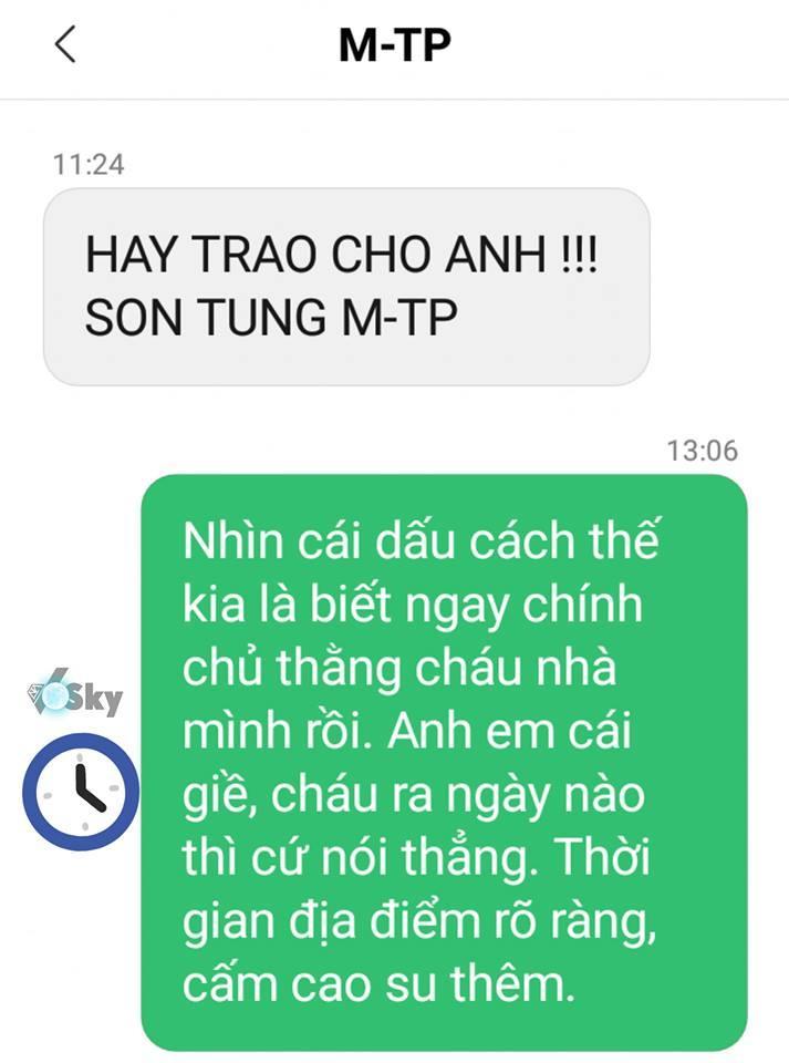 Sơn Tùng MTP nhắn tin rủ rê fan Hãy trao cho anh: Thính comeback chuẩn xác đến 99,99% rồi các Sky ơi!-5