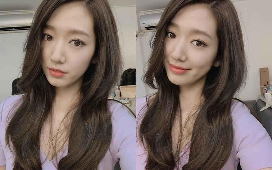 Tái xuất với mái tóc dài óng ả, Park Shin Hye gây sốt với nhan sắc tựa nữ thần-1