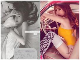 'Đứng hình' vì Elly Trần mặc nội y khoét cao bị fan đề nghị 'mặc quần vào'