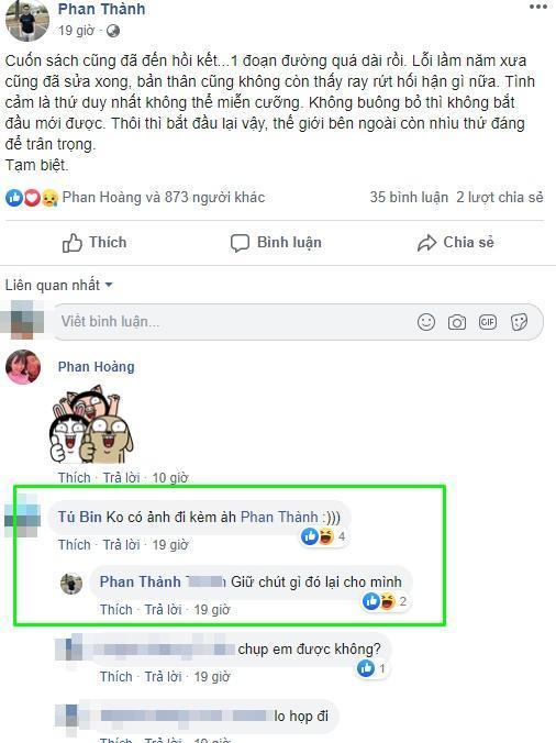 Phan Thành tuyên bố buông bỏ Midu, fans đồng loạt náo loạn Facebook yêu cầu mỹ nhân cho thiếu gia cơ hội làm lại-1