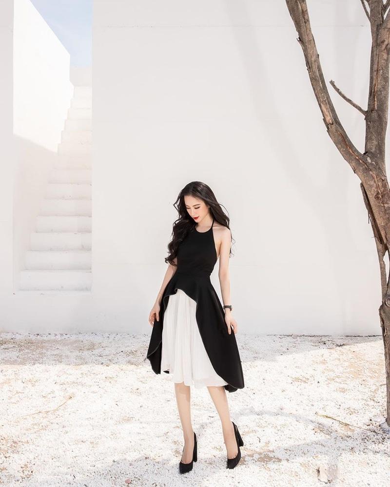 Diệu Nhi khoe thời trang sân bay như bà bầu đi đẻ - Mai Phương Thúy phô cặp giò trứ danh với váy ngắn cũn-6