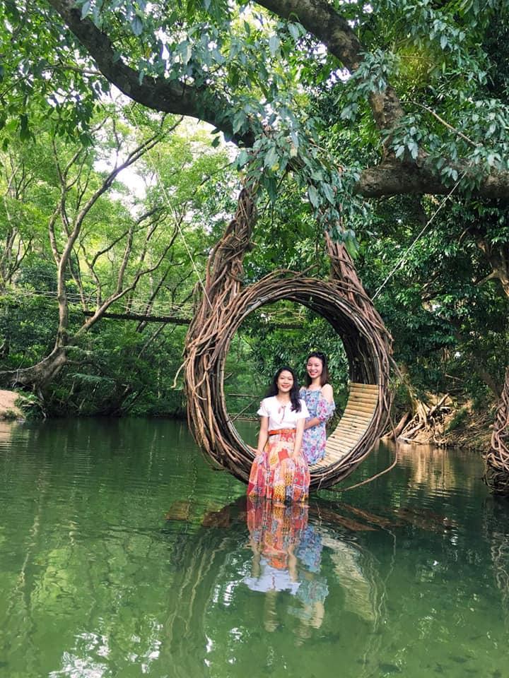 Có rất nhiều điểm sống ảo tại công viên Ozo