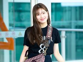 Xuất hiện ở sân bay, Suzy đẹp mê hồn vẫn bị 'soi' tăng cân, má phúng phính