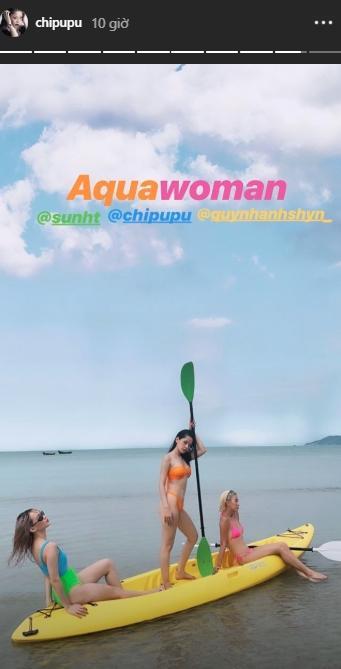 Hóa ra đằng sau hình ảnh mặc bikini nóng rẫy của Chi Pu, Quỳnh Anh Shyn và Sunht là khoảnh khắc lầy lội thế này đây!-3