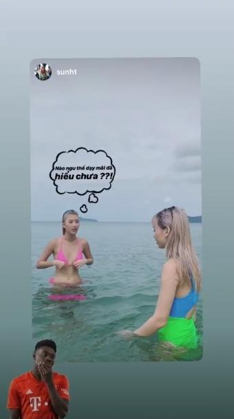 Hóa ra đằng sau hình ảnh mặc bikini nóng rẫy của Chi Pu, Quỳnh Anh Shyn và Sunht là khoảnh khắc lầy lội thế này đây!-5