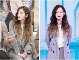 Địch Lệ Nhiệt Ba xinh gấp bội phần khi giã từ màu tóc truyền thống và chuyển sang kiểu tóc ombre cực kỳ 'chất chơi'