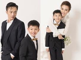 Đàm Thu Trang chúc mừng sinh nhật con riêng của Cường Đô La và Hồ Ngọc Hà