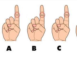 3 giây nhìn ngón tay trỏ biết ngay tính cách, số làm sếp hay làm công ăn lương