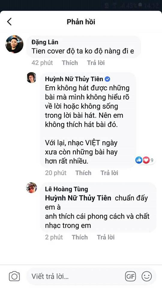 Tiên Tiên từ chối cover Độ ta không độ nàng dù fan rất thích, lý do là gì mà vẫn được tung hô hết lời?-3