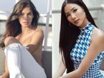 Bản tin Hoa hậu Hoàn vũ 21/6: Dung nhan Hoàng Thùy 'tắt nắng' thê thảm trước tượng đài sắc đẹp Dayana Mendoza