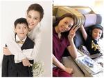Không chỉ được lòng mẹ chồng, Đàm Thu Trang còn được con riêng của Cường Đô La hết mực yêu thương