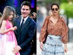 Giữa tin đồn chồng cũ Tom Cruise không phải bố Suri, Katie Holmes mặc quần yếm 'quên' áo-7