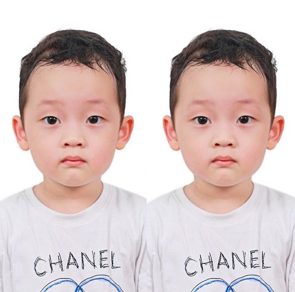 Khoe ảnh thẻ siêu dễ thương của con trai, người xem vô tình tìm ra điểm lạ trong khoảnh khắc Ly Kute đăng tải-1
