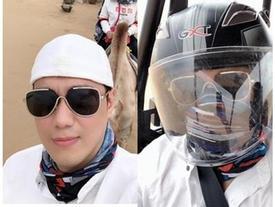 Việt Anh đăng ảnh du lịch Nội Mông sau tuyên bố ly hôn
