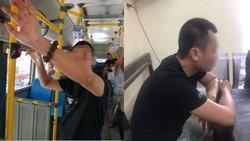 Tạm giữ điều tra hành vi dâm ô của kẻ biến thái thủ dâm sau lưng nữ sinh cấp 2 trên xe buýt