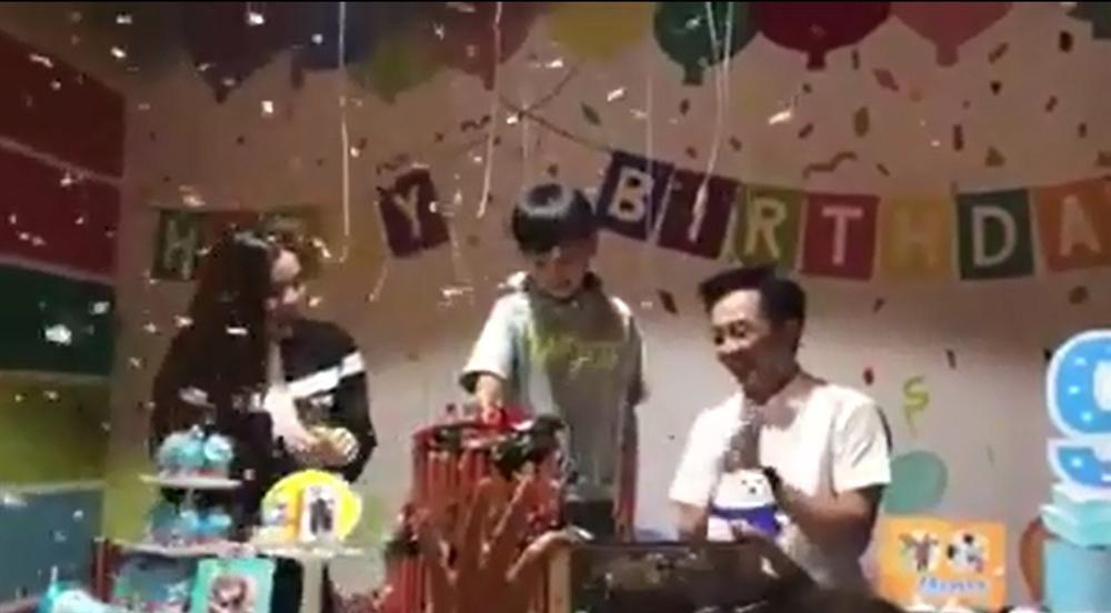 Hồ Ngọc Hà - Cường Đô La tái hợp trong dịp sinh nhật của con trai Subeo-1